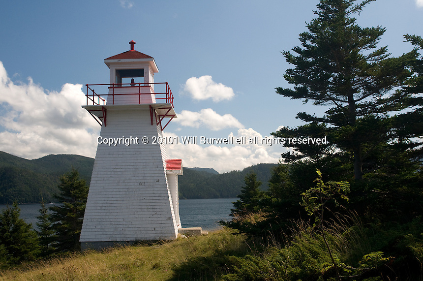 View of Woody Point Lighthouse and South Arm