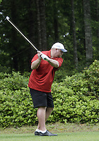June 23, 2008:  Former Tennessee Titans offensive lineman Benji Olson tees off on the 5th hole during the Detlef Schrempf celebrity golf classic held at McCormick Woods golf club in Port Orchard, WA.