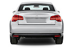 Straight rear view of a 2010 Citroen C5 Confort 4 Door Sedan 2WD