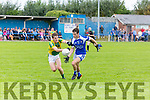 In Action  KOR's Cian Sayers and Mitchel's Frank O'Donnell in the Senior County Football League Div.1 Kerins O'Rahilly V John Mitchels at Kerins O'Rahillys on Sunday
