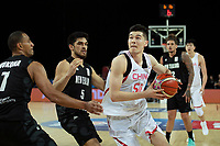 China&rsquo;s Abudushalamu Abudurexiti in action during the FIBA World Cup Basketball Qualifier - NZ Tall Blacks v China at Spark Arena, Auckland, New Zealand on Sunday 1 July 2018.<br /> Photo by Masanori Udagawa. <br /> www.photowellington.photoshelter.com