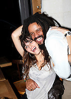 Rohan Marley & girlfriend in Paris