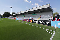General view of the new North Bank stand ahead of Arsenal Women vs Tottenham Hotspur Women, Friendly Match Football at Meadow Park on 25th August 2019