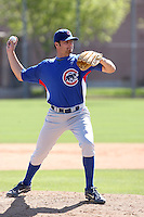 Trey McNutt, Chicago Cubs 2010 minor league spring training..Photo by:  Bill Mitchell/Four Seam Images.