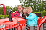 Having fun at the Vintage Day in knockanure were cousins Eilish and Emma Cotter with Laura Woulfe...   Copyright Kerry's Eye 2008