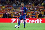 UEFA Champions League 2017/2018 - Matchday 1.<br /> FC Barcelona vs Juventus Football Club: 3-0.<br /> Paulinho.