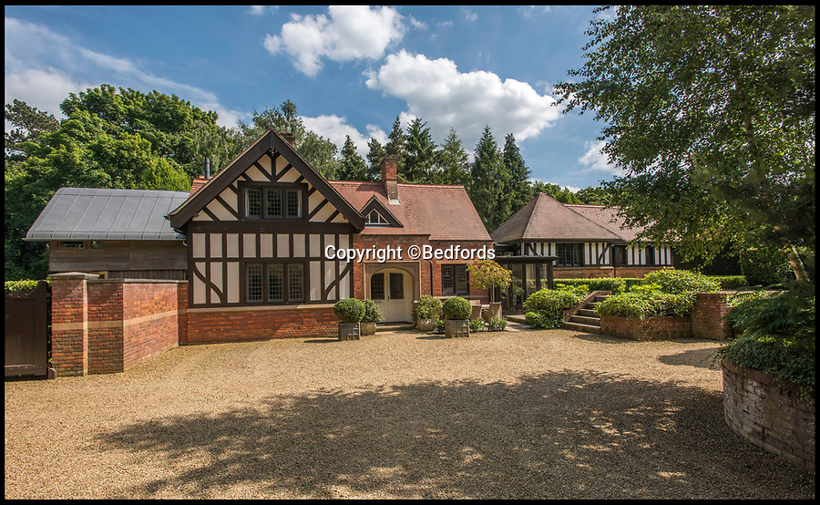 BNPS.co.uk (01202 558833)<br /> Pic: Bedfords/BNPS<br /> <br /> Well chuffed - The Queen's former Sandringham Railway Station office comes on the market...<br /> <br /> A luxury home that used to be the ticket office for a Royal railway station has gone on the market - giving the new owner the chance to be neighbours with the Queen.<br /> <br /> Ashbee House formed part of the station for the tiny hamlet of Wolferton, which is within the grounds of the Queen's Sandringham Estate.<br /> <br /> The Royal Family alighted there when they visited their grand Norfolk residence two miles away every Christmas.<br /> <br /> But in 1969 the Queen agreed for the station to close in order to save costs. Ashbee House was converted into a five bedroom home 15 years ago and is now up for sale for £1.495m.