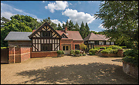 BNPS.co.uk (01202 558833)<br /> Pic: Bedfords/BNPS<br /> <br /> Well chuffed - The Queen's former Sandringham Railway Station office comes on the market...<br /> <br /> A luxury home that used to be the ticket office for a Royal railway station has gone on the market - giving the new owner the chance to be neighbours with the Queen.<br /> <br /> Ashbee House formed part of the station for the tiny hamlet of Wolferton, which is within the grounds of the Queen's Sandringham Estate.<br /> <br /> The Royal Family alighted there when they visited their grand Norfolk residence two miles away every Christmas.<br /> <br /> But in 1969 the Queen agreed for the station to close in order to save costs. Ashbee House was converted into a five bedroom home 15 years ago and is now up for sale for &pound;1.495m.