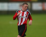 Jordan Hallam of Sheffield Utd during the U23 Professional Development League Two match at the Local Look Stadium, Sheffield. Picture date: September 26th, 2016. Pic Simon Bellis/Sportimage