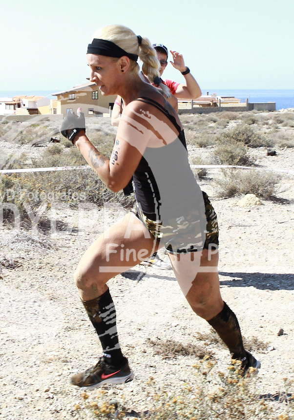 Extreme running trails and flat land, but most passes through the Earth's term Medano, by around Bald Mountain, in the town of Granadilla de Abona, CANARY ISLANDS