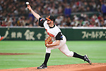 Rick van den Hurk (NED), <br /> MARCH 12, 2017 - WBC : <br /> 2017 World Baseball Classic <br /> Second Round Pool E Game <br /> between Japan 8-6 Netherlands <br /> at Tokyo Dome in Tokyo, Japan. <br /> (Photo by YUTAKA/AFLO SPORT)