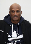 "Kenny Leon attends the cast photo call for the Broadway Revival of  ""Children of a Lesser God"" on February 22, 2018 at the Roundabout Rehearsal Studios in New York City."