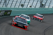 #18: Ryan Preece, Joe Gibbs Racing, Toyota Camry Rheem-Watts and #22: Austin Cindric, Team Penske, Ford Mustang MoneyLion