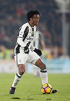 Calcio, Serie A: Juventus vs Roma. Torino, Juventus Stadium,17 dicembre 2016. <br /> Juventus&rsquo; Juan Cuadrado in action during the Italian Serie A football match between Juventus and Roma at Turin's Juventus Stadium, 17 December 2016.<br /> UPDATE IMAGES PRESS/Isabella Bonotto