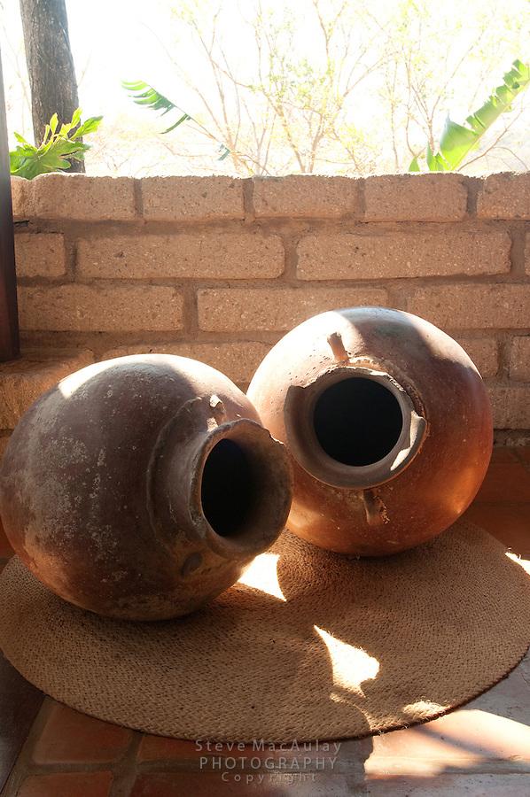 Nicaraguan ceramic urns pots, Morgan's Rock Hacienda and Eco Lodge, Nicaragua