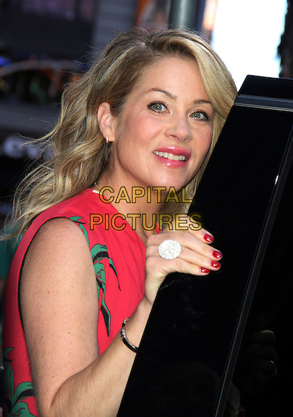 July 23,  2015: Christina Applegate at Good Morning America to talk about her new movie Vaction in New York.<br /> CAP/MPI/RW<br /> &copy;RW/ MediaPunch/Capital Pictures