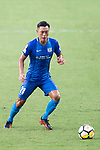 SC Kitchee Defender Kin Man Tong in action during the week three Premier League match between Hong Kong Pegasus and Kitchee at Hong Kong Stadium on September 17, 2017 in Hong Kong, China. Photo by Marcio Rodrigo Machado / Power Sport Images