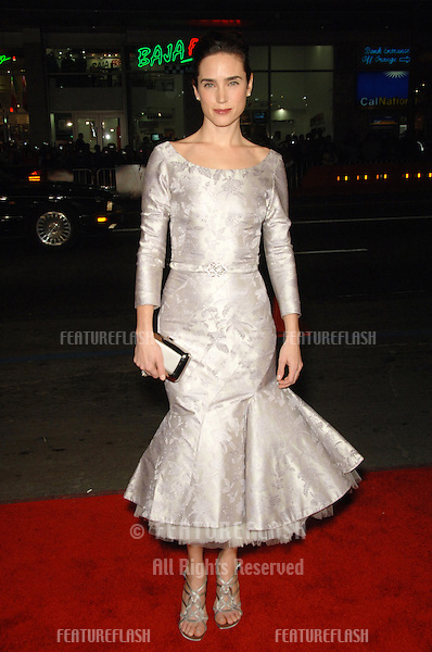 "JENNIFER CONNELLY at the Los Angeles premiere of her new movie ""Blood Diamond"" at Grauman's Chinese Theatre, Hollywood..December 6, 2006  Los Angeles, CA.Picture: Paul Smith / Featureflash"