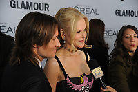 BROOKLYN, NY - NOVEMBER 13: Keith Urban and Nicole Kidman  at Glamour's 2017 Women Of The Year Awards at the Kings Theater in Brooklyn, New York City on November 13, 2017. Credit: John Palmer/MediaPunch