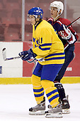 Anton Axelsson (Frolunda HC - Detroit Red Wings), Brandon Dubinsky (Portland Winter Hawks - New York Rangers)  The US Blue team lost to Sweden 3-2 in a shootout as part of the 2005 Summer Hockey Challenge at the National Junior (U-20) Evaluation Camp in the 1980 rink at Lake Placid, NY on Saturday, August 13, 2005.