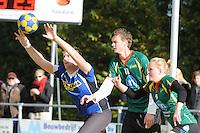 KORFBAL: GORREDIJK: sportpark Kortezwaag, 07-10-2012, hoofdklasse A, LDODK - SCO, Eindstand 12-13, ©foto Martin de Jong