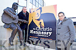 Kieran Ruttledge (Tralee Chamber Alliance) and David Scott launching?? the Christy Hennessy Festival in Tralee on Monday.