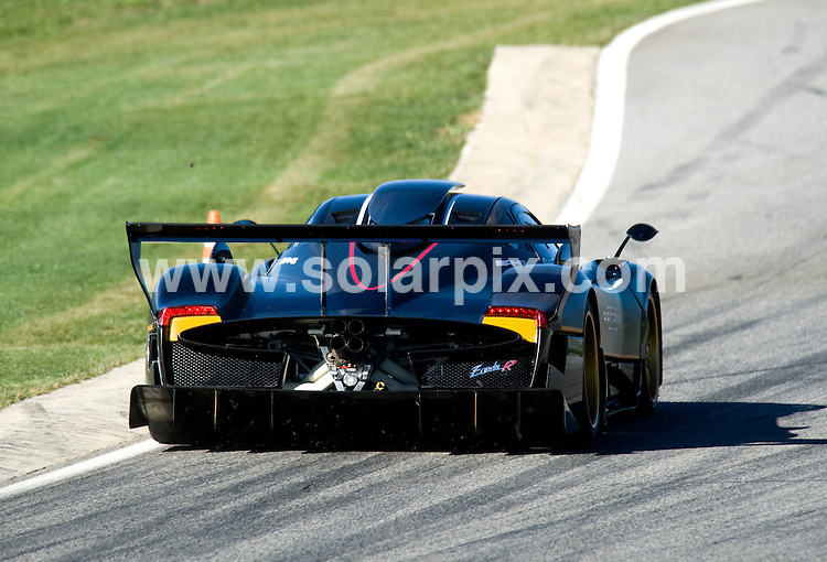 **ALL ROUND PICTURES FROM SOLARPIX.COM**                                             **WORLDWIDE SYNDICATION RIGHTS** .The new Zonda R  super car  presented to the public for the first time by Horacio Pagani on the Ascari race resort in Ronda Spain..Zonda R is an extreme project with the aim to bring the road car, the Zonda F, to the race track for private sessions. 80% of its components have been re-designed, for example carbo-titanium monocoque, new engine purposely developed by the Mercedes AMG, new wheels and tyres compound, new sequential 6-gears gearbox, reduced weight aso. IOn the infamous Nurburgring Nordschleife, in the early dawn, the Pagani Zonda R recorded a lap-time of 6:47, thanks also to bespoke P-Zero tires developed by Pirelli. It's going to be the first time the Zonda R is going to the public after the record.                                                                                JOB REF: 12442        JGS       DATE:6.11.2010                                                            **MUST CREDIT SOLARPIX.COM OR DOUBLE FEE WILL BE CHARGED**                                                                      **MUST AGREE FEE BEFORE ONLINE USAGE**                               **CALL US ON: +34 952 811 768 or LOW RATE FROM UK 0844 617 7637**