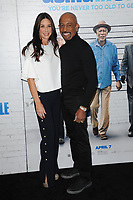 www.acepixs.com<br /> March 30, 2017  New York City<br /> <br /> Tara Fowler and Montel Williams attending the 'Going In Style' New York Premiere at SVA Theatre on March 30, 2017 in New York City.<br /> <br /> Credit: Kristin Callahan/ACE Pictures<br /> <br /> <br /> Tel: 646 769 0430<br /> Email: info@acepixs.com