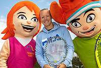 Etten Leur The Netherlands, 12 April 2019, Kiki Bertens ambassador of Dutch tennis association<br /> Photo: www.tennisimages.com/Henk Koster