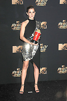 Actress Emma Watson at the 2017 MTV Movie &amp; TV Awards at the Shrine Auditorium, Los Angeles, USA 07 May  2017<br /> Picture: Paul Smith/Featureflash/SilverHub 0208 004 5359 sales@silverhubmedia.com