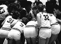 1986: Jill Yanke, Sara Lillevand, Charli Turner, Unknown, Kami Anderson, Kim Mercer, Jennifer Azzi.