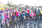 Ready to get the Family Walk & Fun Run underway in aid of Miltown Listry LGFA and the Nagle Rice Primary School in Milltown on Sunday