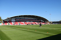 General View of Fleetwood Town&rsquo;s Highbury Stadium<br /> <br /> Photographer Leila Coker/CameraSport<br /> <br /> The EFL Sky Bet League One - Fleetwood Town v Walsall - Saturday 5th May 2018 - Highbury Stadium - Fleetwood<br /> <br /> World Copyright &copy; 2018 CameraSport. All rights reserved. 43 Linden Ave. Countesthorpe. Leicester. England. LE8 5PG - Tel: +44 (0) 116 277 4147 - admin@camerasport.com - www.camerasport.com