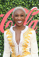 4 January 2020 - Beverly Hills, California - Cynthia Erivo. the 7th Annual Gold Meets Golden Brunch  held at Virginia Robinson Gardens and Estate. Photo Credit: FS/AdMedia