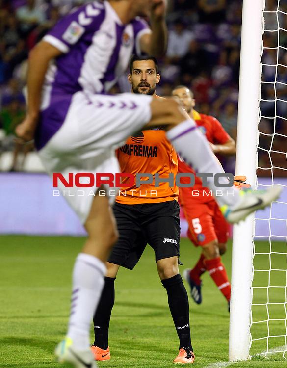 Getafe's goalkeeper Moya during La Liga match.August 31,2013. Foto © nph / Victor Blanco)