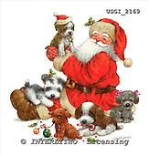GIORDANO, CHRISTMAS SANTA, SNOWMAN, WEIHNACHTSMÄNNER, SCHNEEMÄNNER, PAPÁ NOEL, MUÑECOS DE NIEVE, paintings+++++,USGI2169,#X#