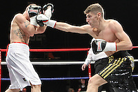 Leo D'Erlanger	vs Ryan McNicolin a Boxing contest at the Magna Centre, Rotherham, promoted by Hennessy Sports - 18/02/12 - MANDATORY CREDIT: Chris Royle