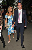 Gemma Oaten and Stuart Earp at the DIVA Magazine Awards 2018, Waldorf Hilton Hotel, Aldwych, London, England, UK, on Friday 08 June 2018.<br /> CAP/CAN<br /> &copy;CAN/Capital Pictures