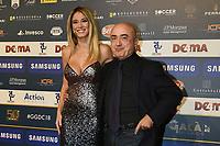 Diletta Lotta-Paolo Cevoli<br /> Milano 3-12-2018 Gran Gala Calcio AIC Associazione Italiana Calciatori <br /> Daniele Buffa / Image Sport / Insidefoto