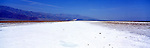 America Panorama - Salt Flats at Badwater Basin. Death Valley, California, America.<br />