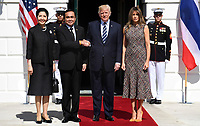 President Trump welcomes Thai PM and spouse to the White House