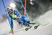 8th February 2019, Are, Sweden; Alpine skiing: Combination, ladies: Kajsa Vickhoff Lie from Norway on the slalom course.