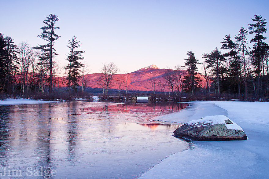 Winter Morning on Chocorua Lake