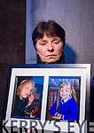 Jolanta Lubiene's mother Ramute Santiene, the victim's husband Marius Lubys, her sister Kristina Kuleviciene and Jolanta's niece Levita with Mairead Fernane of Victim Assistance in the back.