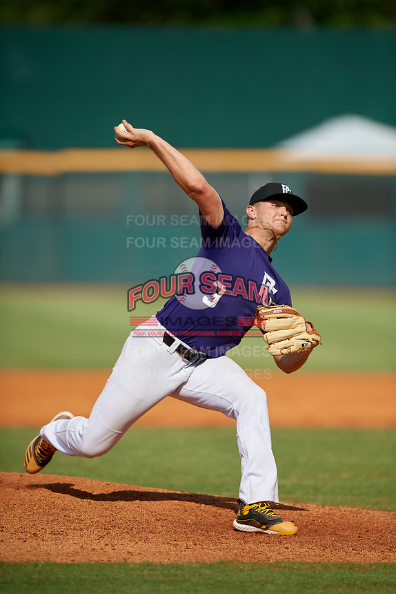 Kade Grundy (3) of Somerset High School in Somerset, KY during the Perfect Game National Showcase at Hoover Metropolitan Stadium on June 20, 2020 in Hoover, Alabama. (Mike Janes/Four Seam Images)
