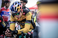 Wout Van Aert (BEL/Jumbo-Visma), pre race focus<br /> <br /> Elite Men's Race <br /> Belgian National CX Championships<br /> Antwerp 2020