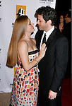 BEVERLY HILLS, CA. - October 27: Actress Amy Adams and Darren Le Gallo arrive at the 12th Annual Hollywood Film Festival Awards Gala at the Beverly Hilton Hotel on October 27, 2008 in Beverly Hills, California.