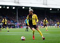 7th March 2020; Selhurst Park, London, England; English Premier League Football, Crystal Palace versus Watford; Roberto Pereyra of Watford