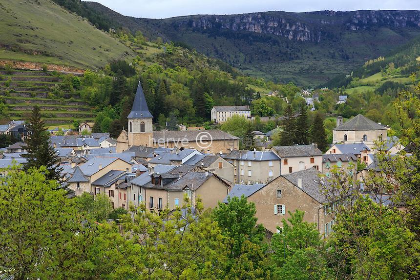 France, Lozère (48), causse Méjean, parc national des Cévennes, Meyrueis // France, Lozere, Causse Mejean, Cevennes National Park, Meyrueis
