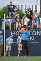 Greg Chalmers (AUS) watches his tee shot on 1 during round 4 of the Houston Open, Golf Club of Houston, Houston, Texas. 4/1/2018.<br /> Picture: Golffile | Ken Murray<br /> <br /> <br /> All photo usage must carry mandatory copyright credit (&copy; Golffile | Ken Murray)